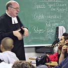 Cathedral-Bro-James-teaching-class